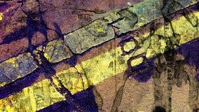 Abstracte psychedelische textuur Stock Foto's