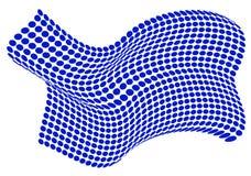 Abstracte puntachtergrond Vector Illustratie