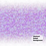 Abstracte punten vectorachtergrond royalty-vrije illustratie