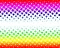 Abstracte puntenachtergrond Royalty-vrije Stock Afbeelding