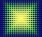 Abstracte puntenachtergrond Stock Afbeeldingen