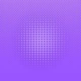 Abstracte purpere grappige halftone puntenachtergrond vector illustratie