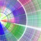 Abstracte radiale achtergrond Royalty-vrije Stock Afbeelding