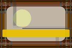 Abstracte rechte lijnen stock illustratie