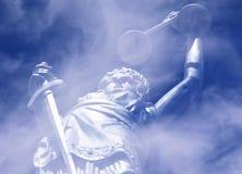 Abstracte rechtvaardigheid Royalty-vrije Stock Fotografie