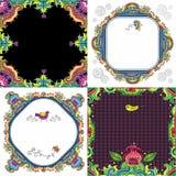Abstracte reeks als achtergrond (bloemenreeks) Royalty-vrije Stock Fotografie