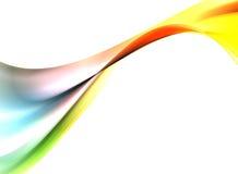 Abstracte regenboog Stock Fotografie