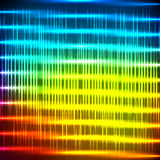 Abstracte regenboog glanzende achtergrond Stock Afbeeldingen