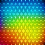 Abstracte regenboog glanzende achtergrond Royalty-vrije Stock Fotografie