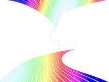 Abstracte regenboogachtergrond Stock Foto's