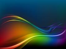 Abstracte regenboogachtergrond Stock Afbeeldingen