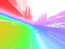 Abstracte regenboogachtergrond Royalty-vrije Stock Afbeelding