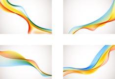 Abstracte Regenboogachtergronden Royalty-vrije Stock Fotografie