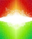 Abstracte regenboogillustratie Stock Foto