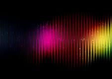 Abstracte regenboogkleuren stock illustratie