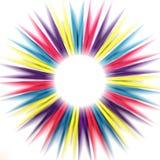 Abstracte Regenboogpinnen Stock Afbeeldingen
