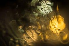 Abstracte regendaling bokeh Stock Afbeeldingen