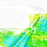 Abstracte rimpelingenachtergrond Royalty-vrije Stock Afbeeldingen