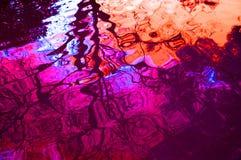 Abstracte rimpelingsachtergrond stock afbeelding