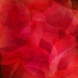 Abstracte rode achtergrond Stock Afbeelding