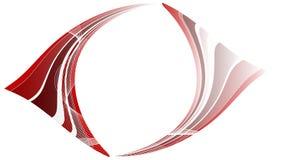 Abstracte rode achtergrond Stock Fotografie