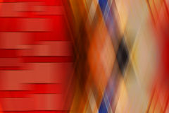 Abstracte rode achtergrond met chaotische strepen in beweging Stock Afbeeldingen