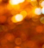 Abstracte rode bokeh, perfecte de herfstachtergrond Stock Afbeelding