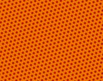 Abstracte rode en oranje driehoek en hexagon patroon royalty-vrije illustratie