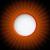 Abstracte rode en zwarte achtergrond met cirkels Royalty-vrije Stock Foto