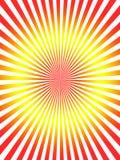 Abstracte rode gele achtergrond Royalty-vrije Stock Afbeeldingen