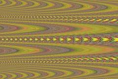 Abstracte rode gele en groene kubistische vormen Royalty-vrije Stock Fotografie
