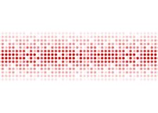 Abstracte rode glanzende cirkelsachtergrond Stock Fotografie
