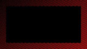 Abstracte rode grens Halftone kader De bekledingen van de ontwerptextuur vector illustratie