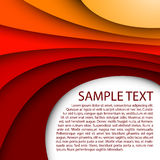 Abstracte rode samenvatting als achtergrond, artistieke kunst, B royalty-vrije illustratie