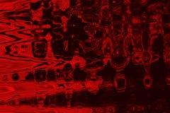 Abstracte rode tintenachtergrond met grungetextuur Royalty-vrije Stock Afbeelding