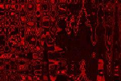 Abstracte rode tintenachtergrond met grungetextuur Stock Afbeelding