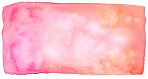 Abstracte rode waterverfachtergrond royalty-vrije illustratie