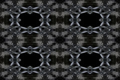 Abstracte Rook Art Pattern Stock Afbeelding