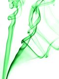 Abstracte rook II (Wit) Stock Foto
