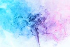 Abstracte rookbewegingen Stock Foto
