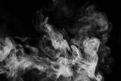 Abstracte rookbewegingen Royalty-vrije Stock Afbeeldingen