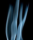 Abstracte rookgolven Royalty-vrije Stock Afbeelding