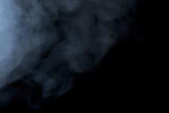Abstracte rookwaterpijp op een zwarte achtergrond Royalty-vrije Stock Afbeelding