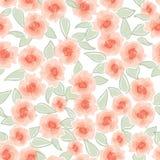 Abstracte roseTexture van de wervelingsbloem Royalty-vrije Stock Fotografie