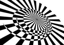 Abstracte roterende beweging. Royalty-vrije Stock Afbeeldingen
