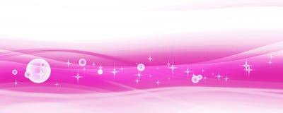 Abstracte roze achtergrond stock illustratie