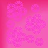 Abstracte roze achtergrond bloemen Royalty-vrije Stock Fotografie