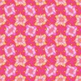 Abstracte roze en het magenta betegelde patroon, de achtergrond van de Tegeltextuur, Naadloze illustratie Royalty-vrije Stock Foto