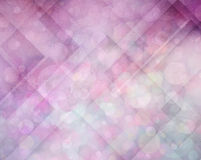 Abstracte roze en purpere achtergrond met hoeken en cirkels Stock Fotografie