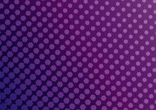 Abstracte roze en purpere kleur van geometrische vormen halftone patt stock illustratie